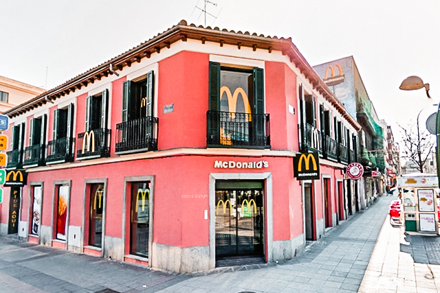 McDonalds Albufera Madrid